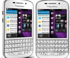 Blackberry q10 Movistar 4g sin detalle