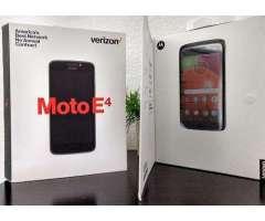 Motorola Modelo Moto E4, 4G, 30 día de Garantía
