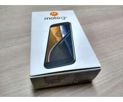 Vendo celular MOTO G4 dual sim doble chip color negro