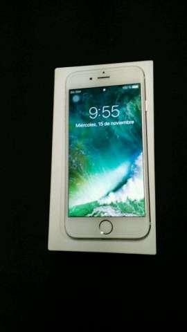 Vendo iPhone 6 de 64gigas Color Blanco