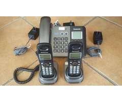 TELEFONO BASE  2 INALÁMBRICOS KXTG9392T PANASONIC