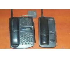 DOS TELEFONOS PANASONIC PARA REVISAR, AMBOS 40.000