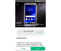 Vendo Alcatel A3 Xl