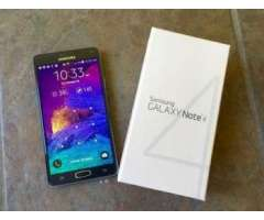 Samsun galaxy Note 4 32gb factory unlock BLanco y Negro 4g LTE N01