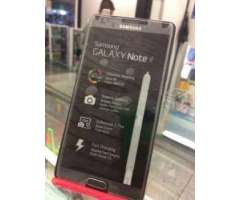 Samsun galaxy Note 4 32gb factory unlock BLanco y Negro 4g LTE T02