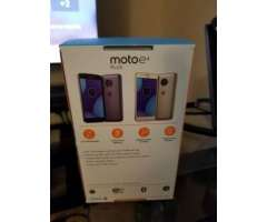 Moto e4 plus 16gb iron grey NUEVOS 0MILLAS