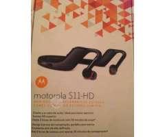 Audífonos bluetooth motorola s11-hd