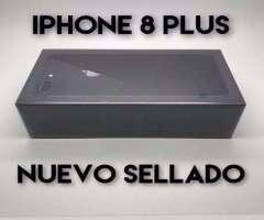 iPhone 8 64G Plus Nuevo en Caja Sellada