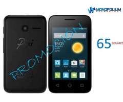 Smartphone Alcatel Pixi 4 de Paquete