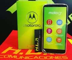 Moto G6 32Gb NUEVOS FACTURA GARANTIA domicilio sin costo HLACOMUNICACIONES