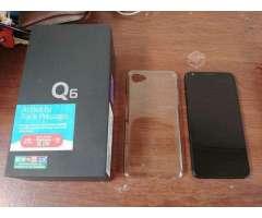 LG Q6 en excelente estado