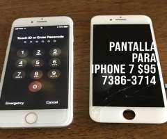 Cambio de Pantalla a Domicilio iPhone 7
