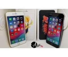 Iphone 6s plus de 64gb Dorado y gris excelente condición!