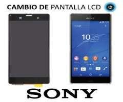 Sony Xperia Z3 Pantallas en Blanco y Negro.