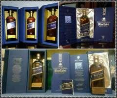 Whisky Blue Label Etiqueta Azul Vodka