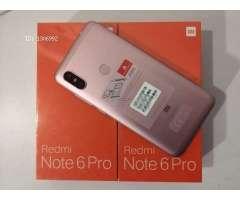 Vendo Xiaomi Redmi Note 6 Pro Dual Sim Nuevo (3Gb RAM 32Gb ROM)