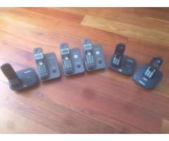 Lote de Telefonos Inalambricos Panasonic