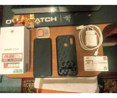 Huawei p20 lite + carcasa + micro sd + chip - Quilicura